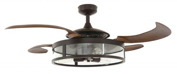 Beacon Deckenventilator mit Lampe Fanaway Classic bronze