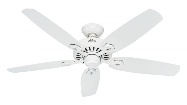 Hunter Deckenventilator Builder Elite weiss