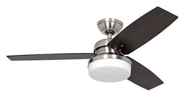 Hunter Deckenventilator Galileo chrom gebürstet